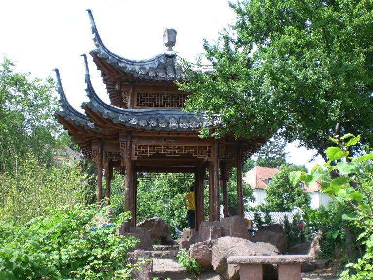 Chinesischer Garten Stuttgart Botanische Gärten Parks In